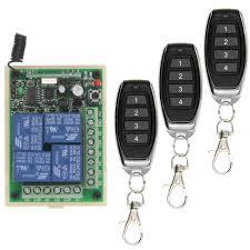 <b>Smart Multiple DC 12V</b> 24V 10A 315/433 MHz 4CH 4 CH Wireless ...