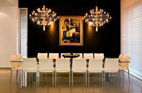 metal dining room chairs chrome: chrome hanging lamps black leather dining chairs most beautiful dining chairs decors combined high ceiling simple