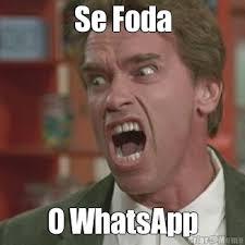Se Foda O WhatsApp - Meme - Criarmeme.com.br via Relatably.com