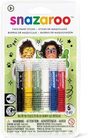 Snazaroo Аква-<b>карандаши для грима</b> 6 цветов — купить в ...