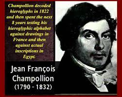 「Jean-François Champollion」の画像検索結果