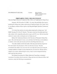 standard format for college essays  formatting college essays cpcc