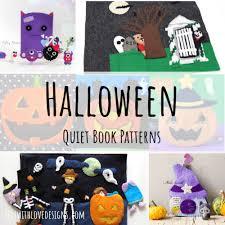<b>Halloween</b> Quiet Book <b>Patterns</b> - Felt With Love Designs