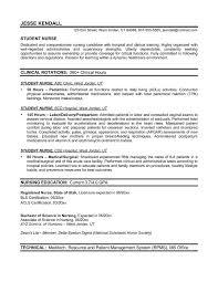sample nursing resume   new graduate nurse   job   pinterest    resume template nursing