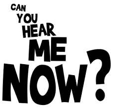 Image result for can you hear me now gif