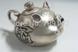 <b>Chinese exquisite Old</b> Decorated Handwork <b>tibet</b> silver collectable ...