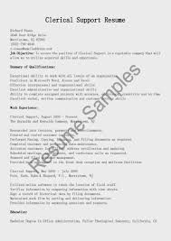 clerical support cover letter examples cover letter clerical clerical support cover letter sample clerical support sample resume
