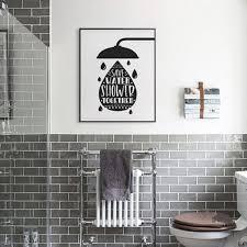 Humorous <b>Bathroom</b> Poster Art Modern <b>Minimalist</b> Nordic Wall Art ...