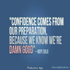 Sports Confidence Quotes. QuotesGram