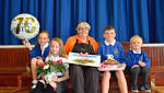 Surprise party for Green Lane primary school cook Lilian, 70