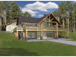 A Frame House Plans from Dream Home Source   A Frame Home and    DHSW