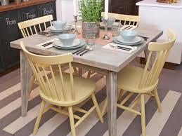 Painted Kitchen Painting Kitchen Tables Pictures Ideas Tips From Hgtv Hgtv