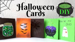 5 <b>Halloween Cards</b> To Make DIY | Easy & Funny <b>Halloween Card</b> ...