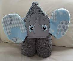 Elephant Boy Hooded Bath Towel,Kids Hooded Towel,Personalized ...
