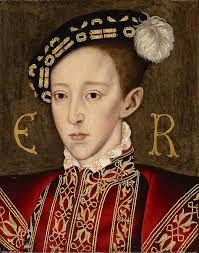John Matusiak referees the debate about the influence of Henry VIII's son. Edward VI, by William Scrots, c. 1550 By the end of May 1553, Edward VI was, ... - 474px-Portrait_of_Edward_VI_of_England