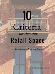 choosing retail space dream a latte sources