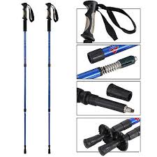 2PCS Trekking Poles <b>Multifunctional</b> Walking <b>Sticks</b> Adjustable W ...