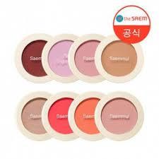 <b>Однотонные румяна The Saem Saemmul Single</b> blusher из Кореи ...