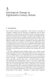 ideological change in eighteenth century britain springer inside