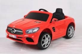 <b>Детский электромобиль Harleybella Mercedes</b>-Benz SL500 Red ...