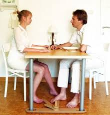 less practical than the other objects but just as endearing the footsie is a sort of swiveling pedestal for feet it fits under a table so that you and accessoriesendearing lay small