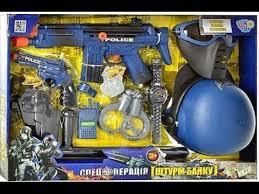 <b>Набор полицейского</b> для мальчика. Обзор игрушек - YouTube