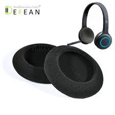 Defean <b>5 Pairs of</b> Foam Ear Pads Foam Cushion Cover For Logitech ...