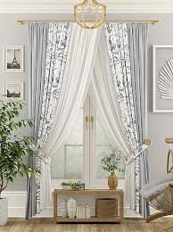 Купить <b>комплект штор</b> «Лорати с подхватами» белый, серый ...