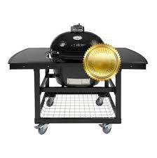 <b>Гриль угольный Oval Large</b> Luxury, на столе-тележке 775C2L Primo