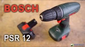 Обзор аккумуляторной <b>дрели</b>-<b>шуруповерта Bosch PSR</b> 12 ...