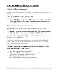thesis statement format ASB Th  ringen