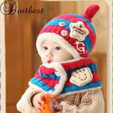 Shop 1 Set Cotton Baby <b>Hat</b> Scarf <b>Kids</b> - Great deals on 1 Set Cotton ...