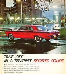 1962 Pontiac Tempest 1962 Pontiac Tempest Coupe Ad Classic Cars Today Online