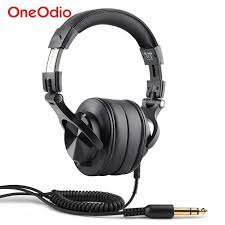 <b>Oneodio Fusion Professional Wired</b> Studio DJ Headphones ...