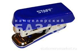 <b>Степлер</b> №10 МИНИ <b>STAFF</b>, до 10 листов, с антистеплером ...