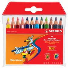 Набор <b>цветных карандашей Stabilo</b> Trio, 18 цветов   Отзывы ...