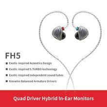 <b>FiiO FH5</b> металлический чехол Knowles съемный кабель MMCX ...