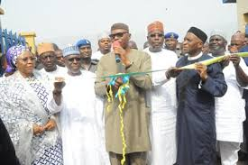 Image result for Mimiko inaugurates new event centre