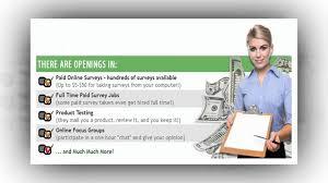 work at home jobs make money doing surveys work at home jobs make money doing surveys