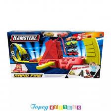 Трек супер-<b>скоростной</b> Teamsterz - <b>HTI</b> (JCB) - Город <b>игрушек</b>