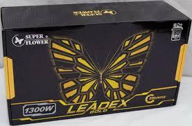 <b>Super Flower</b> LEADEX Gold 1300W <b>Power Supply</b> – JonnyGURU.com