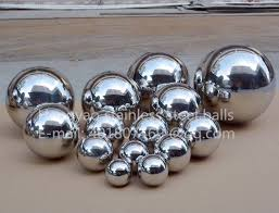 Online Shop Silver Dia 25mm 2.5cm <b>304</b> stainless steel hollow ball ...