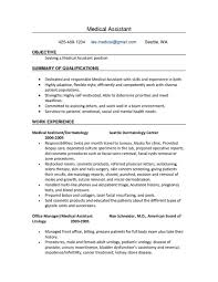 resume template medical assistant objective resume medical medical resume template medical assistant objective resume medical medical assistant externship resume objective medical assistant resume samples no experience