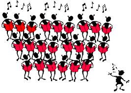 Resultado de imagen de fotos de coros