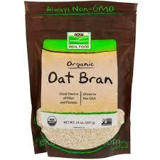 Now Foods, <b>Real Food</b>, <b>Органические овсяные</b> отруби, 14 унций ...