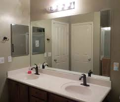 bathroom mirror with lighting large framed bathroom mirrors wood framed mirrors oversized wall mirror bathroom mirrors and lighting
