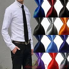 Hot! Solid Plain Classic 100%<b>New Silk Jacquard Woven</b> Necktie ...