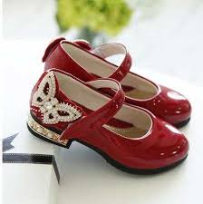 Kids Girls Shoes Bowknot Rhinestone Leather Shoes <b>School Girls</b> ...