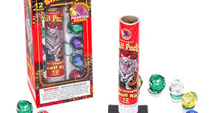 Wolf <b>Pack</b> Color Changing Shell Mortar Kit, <b>12 pieces</b>