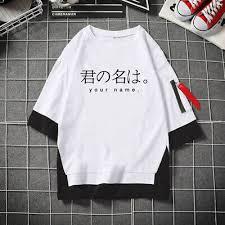 New <b>Anime Your</b> Name T Shirt Travel Casual Tees Shirts <b>Men</b> ...